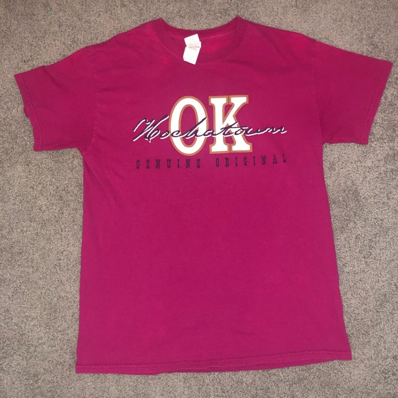 Gildan Tops - Pink Hochatown, Oklahoma T-Shirt